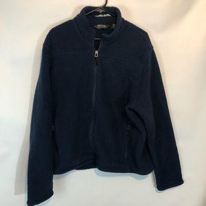 Eddie Bauer Mens Sherpa Sweater L